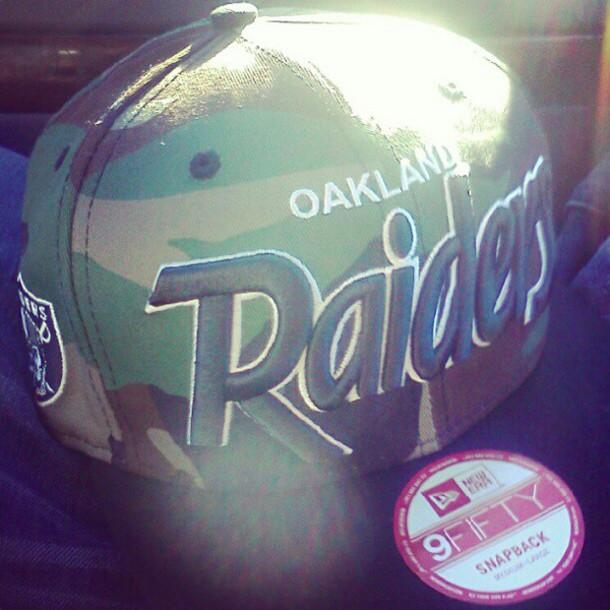 4fa7e3fb453 new era hat snapback oakland raiders camouflage new era cap new era raiders  oakland black new