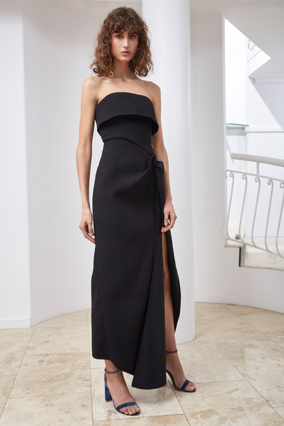 C/MEO COLLECTIVE dress maxi dress maxi black
