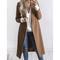 Fashion women long-sleeved cardigan jacket coat