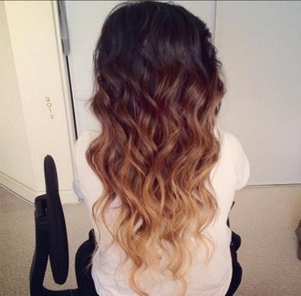 hair accessory cute ombre hair curly hair long