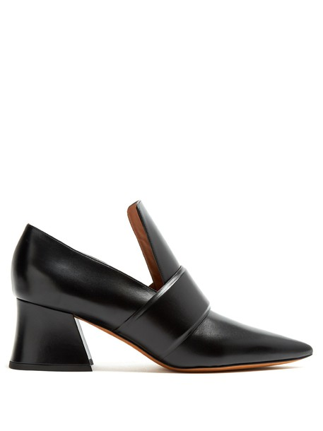 Givenchy loafers leather black shoes