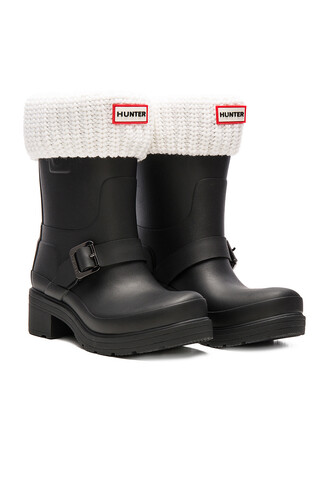boot short white