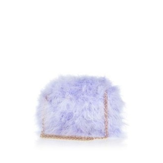 bag fuzzy bag furry bag chain bag