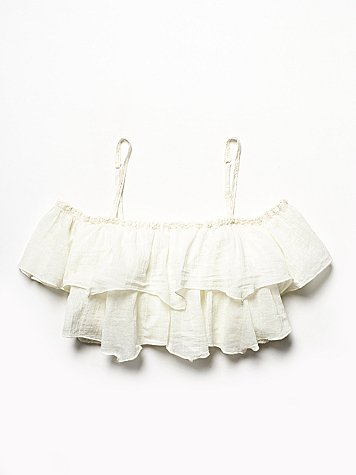Free People  Freedom Frills Cami at Free People Clothing Boutique