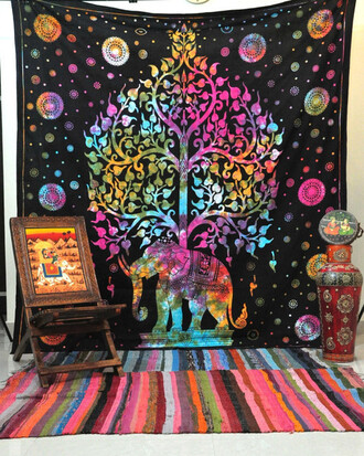 home accessory tree of life elephant tapestry wall decor hippie tapestries cheap tapestry queen bedcover sofa throw blanket beach towel massive beach towel