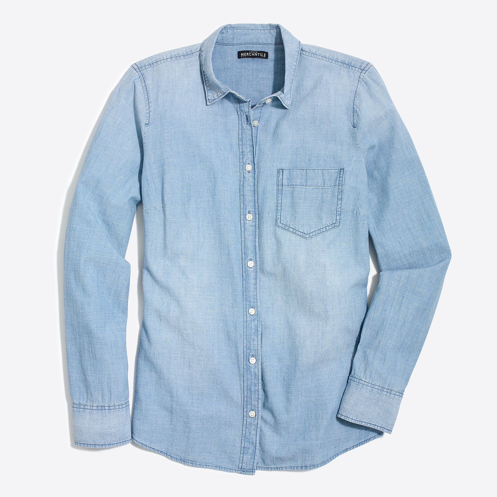 J.Crew Factory: Chambray shirt in perfect fit