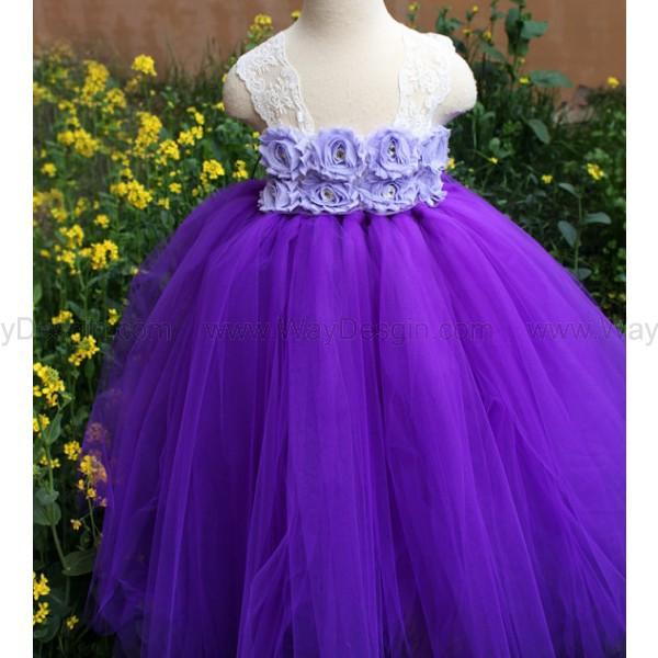 flower girl dress flower girl dress 2014 purple dress dress