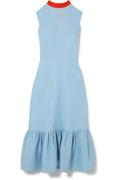 Rejina Pyo dress midi dress midi blue