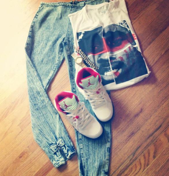jeans shirt