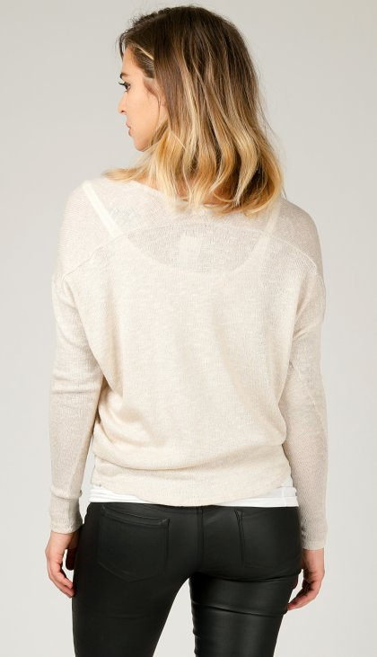 Soft spring dolman top