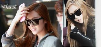 black sunglasses wayfarer black sunglasses oversized sunglasses k-pop