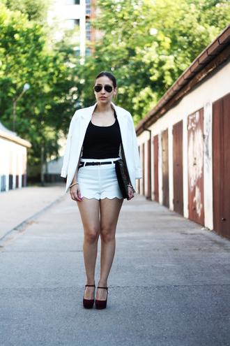 jacket white jacket white blazer blazer persunmall