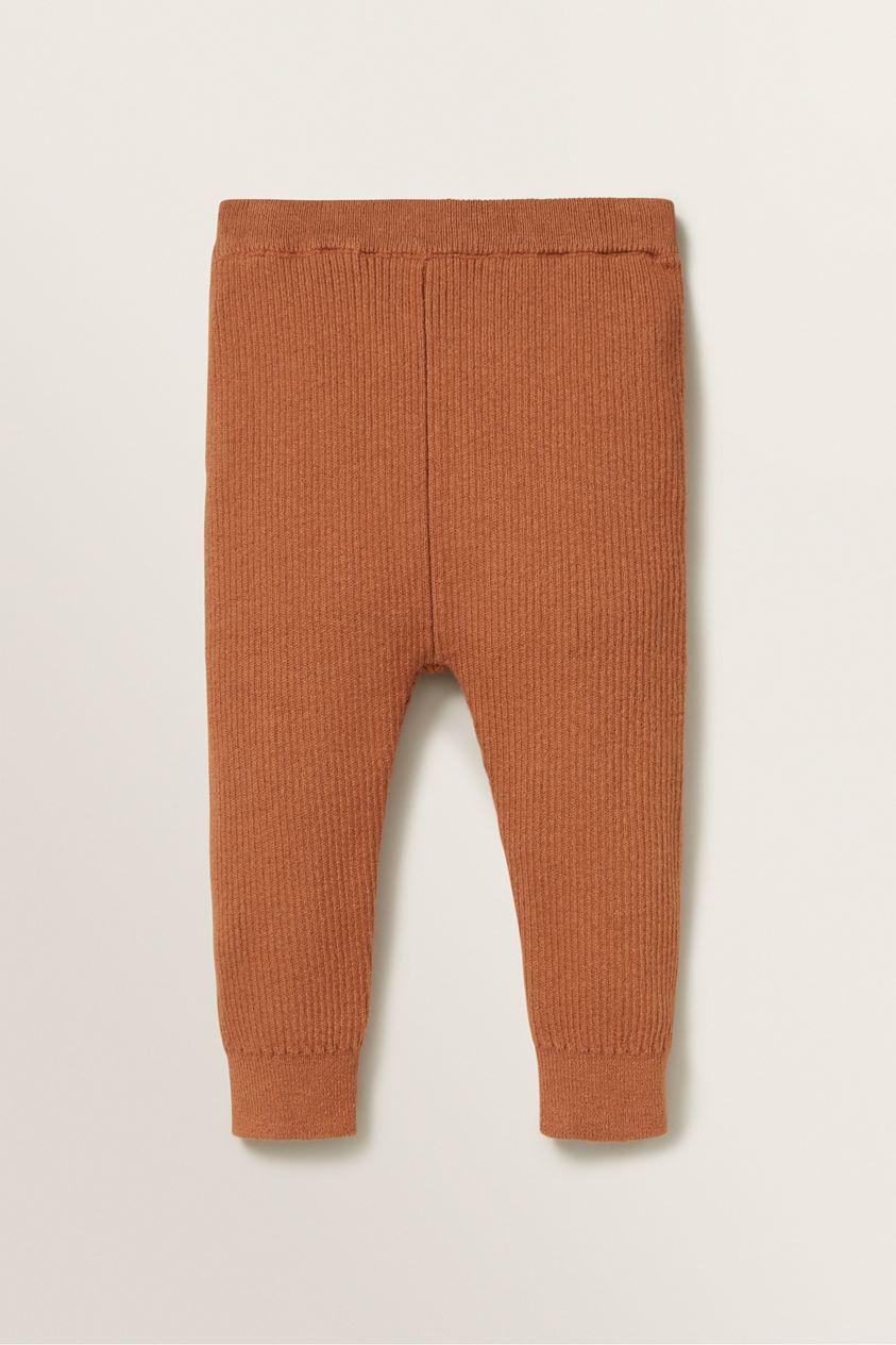 Rib Knitted Pant