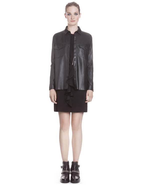 Chemise Choc Noir - Chemises Sandro - E-Boutique Officielle SANDRO / Collection Printemps-Été 2013 SANDRO