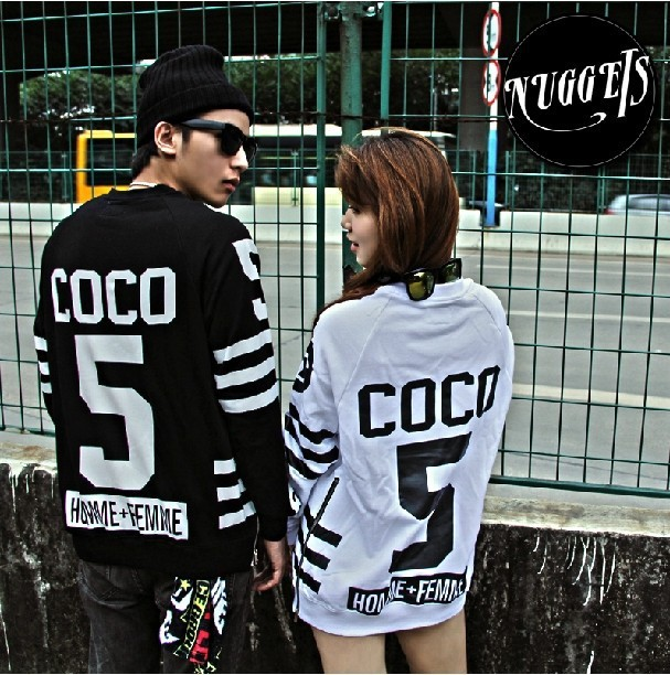 Coco hockey sweater with side zippers