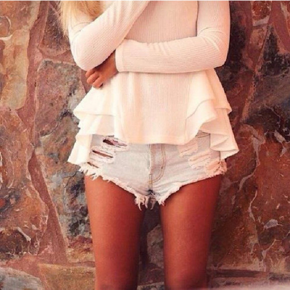 marc jacobs white shirt summer white shirt hm.com fshion pretty perfecto shorts