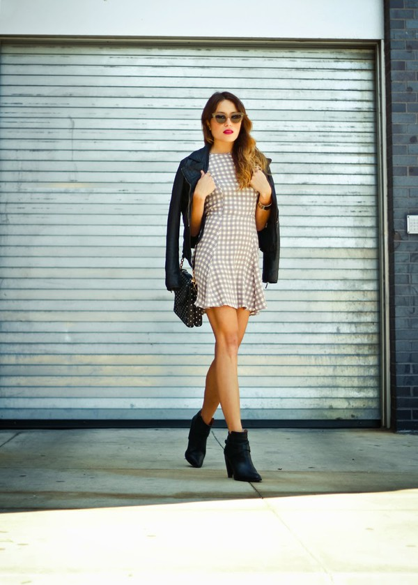 the marcy stop jacket jewels bag sunglasses shoes