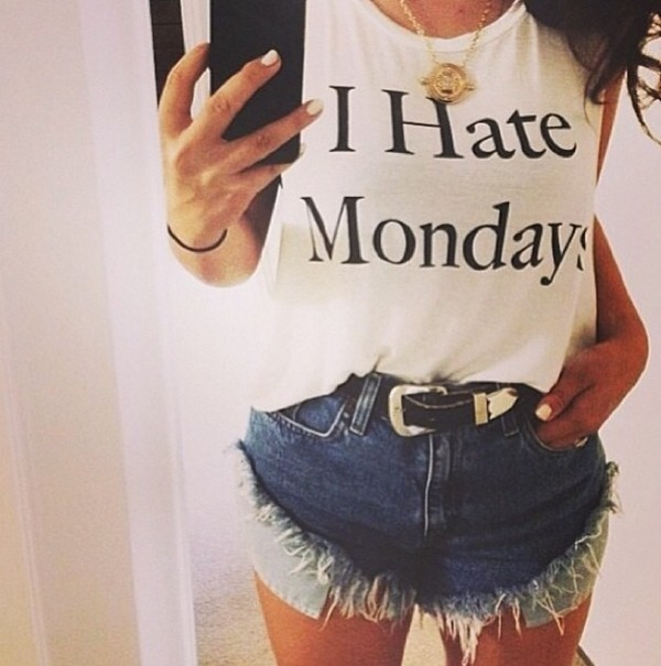 shirt i hate mondays