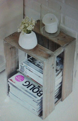 jewels wooden crate crate flowers phone cover white magazines fashion candle beach house