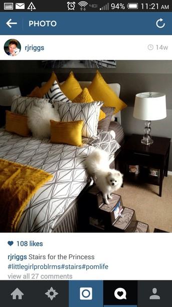 home accessory mustard bedding classy
