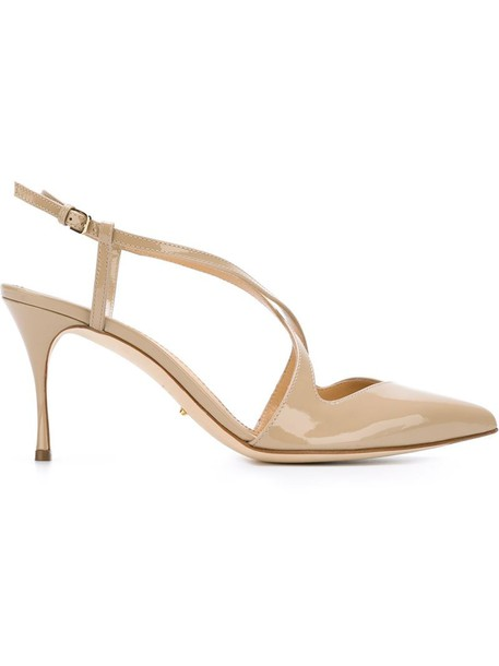 Sergio Rossi pumps nude shoes