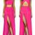 Hot Pink Skirt Co-Ord Set