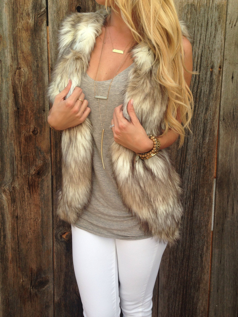Find great deals on eBay for womens brown fur vest. Shop with confidence.