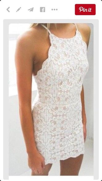 dress white dress white off-white cream summer dress lace dress lace pattern patterned dress beautiful spring spring dress summer