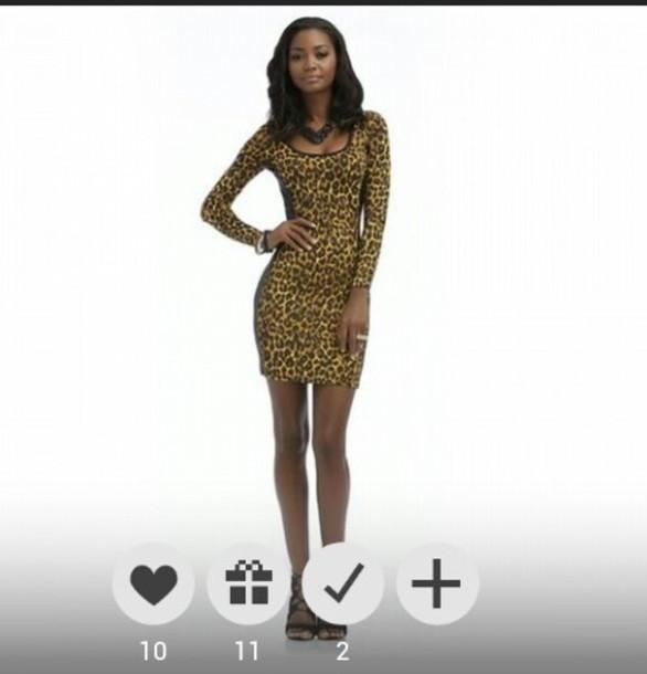 dress leopard print dress cute sexy nicki minaj collection black heels