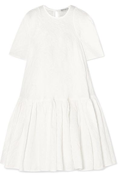 Cecilie Bahnsen - Annabella oversized cotton-blend cloqué mini dress