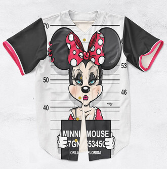 shirt cute funny jersey disney minnie mouse teenagers black ogvibes
