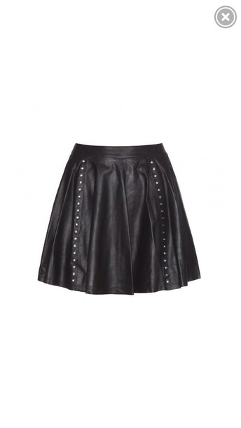 skirt leather skirt leather