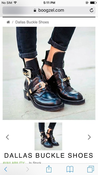 shoes girly girl girly wishlist boots booties black ankle boots buckle boots buckles