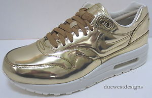Nike Air Max 1 SP Liquid Metal Gold 6 10 5 Clot Tiger atmos Safari Sky High Hi | eBay