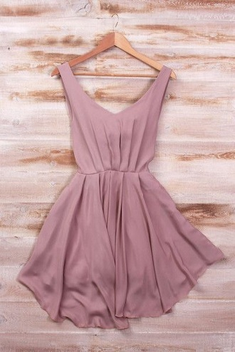 dress purple and pink dress cute silky dress flows dress pink skater sweetheart neckline