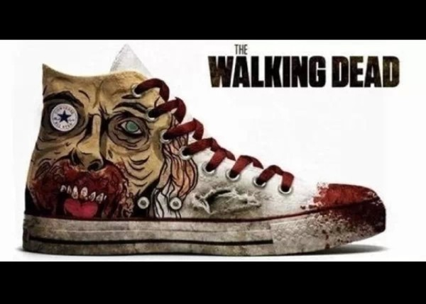 shoes white the walking dead converse high top sneakers high top converse