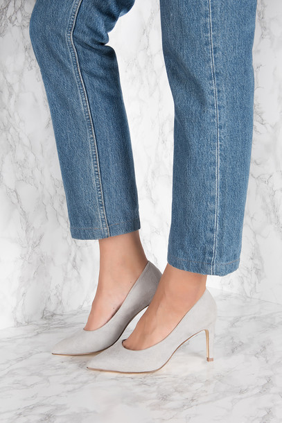 NA-KD Shoes Pointy Suede Pumps