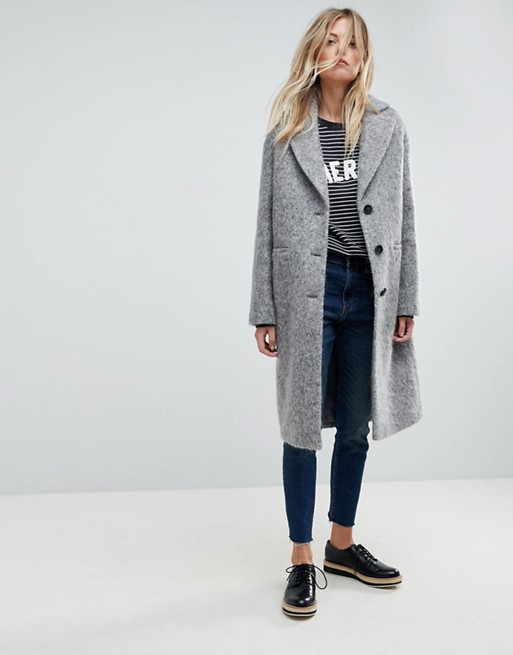 Whistles Slim Drawn Coat at asos.com