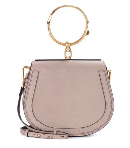 Chloe bag crossbody bag leather grey