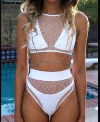 swimwear mesh bikini