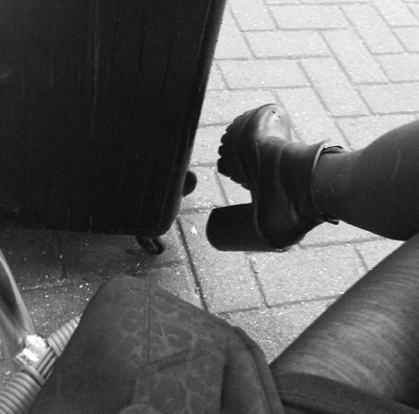 shoes black high heels black high heels chunky heels boots