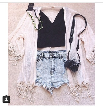 shorts all in forever 21 follow me for more jacket shirt jewels