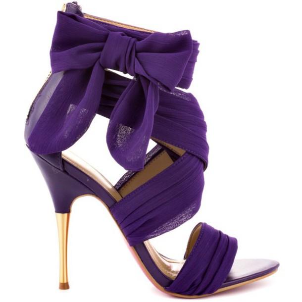 shoes violet purple shoes tule formal elegant shoes prom shoes