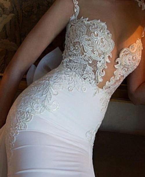 dress white dress wedding dress lace dress lace wedding dress