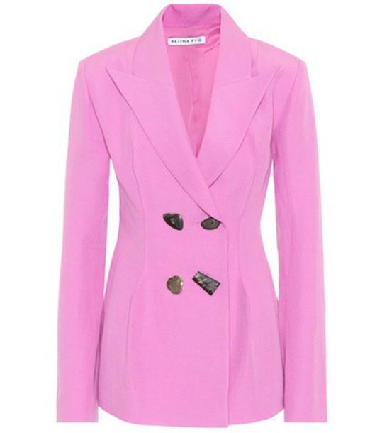 Rejina Pyo blazer pink jacket