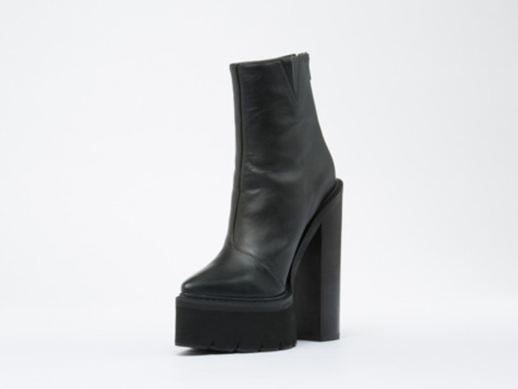 jeffrey campbell blak shoes