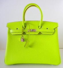 a3c8a74d66e7 HERMES BIRKIN bag 35 Candy Series Limited Edition KIWI at 1stdibs