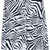 Black White Lapel Long Sleeve Zebra Print Blouse - Sheinside.com