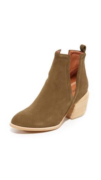 booties khaki shoes