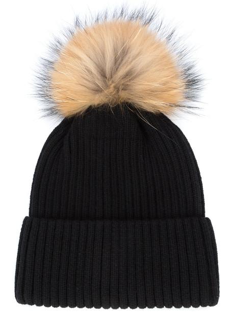 beanie pom pom beanie black hat